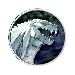 ゴジラ・フィリウスメダル(銀)の画像