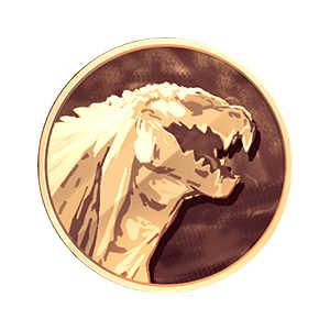 ゴジラ・フィリウスメダル(金)の画像