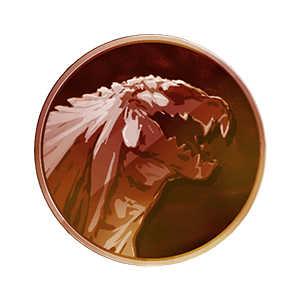 ゴジラ・フィリウスメダル(銅)の画像