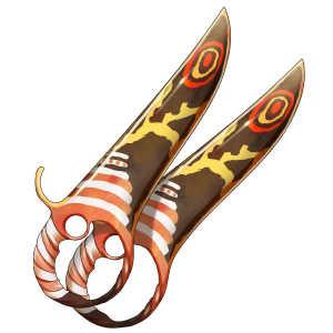 巨蛾の双剣の画像