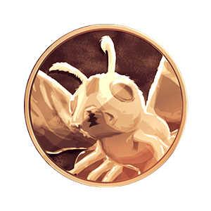 モスラメダル(金)の画像