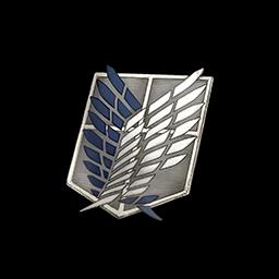 調査兵団の紋章の画像