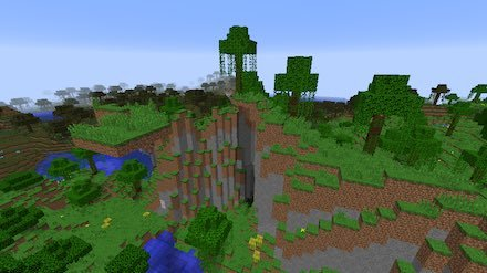 ジャングルの端M画像