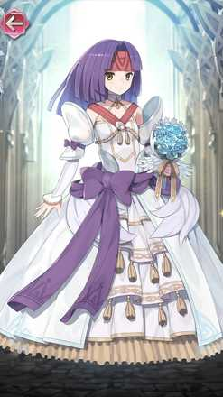 サナキ(花嫁姿の神使)の立ち絵