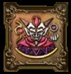 魔道士ウルノーガの紋章・頭のアイコン