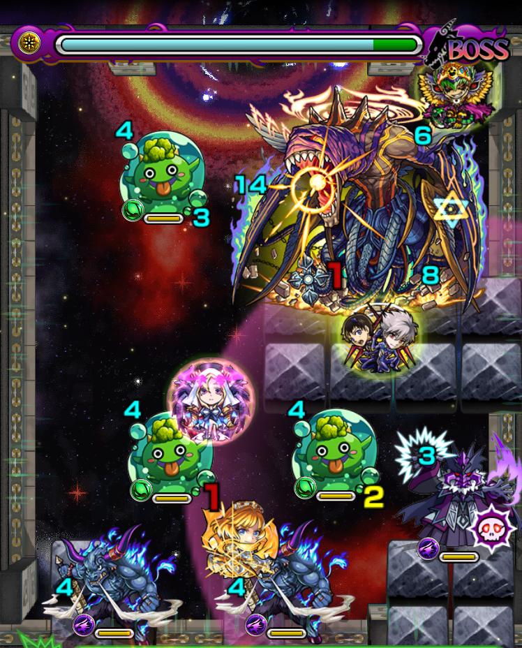覇者の塔35階の第6ステージの画像