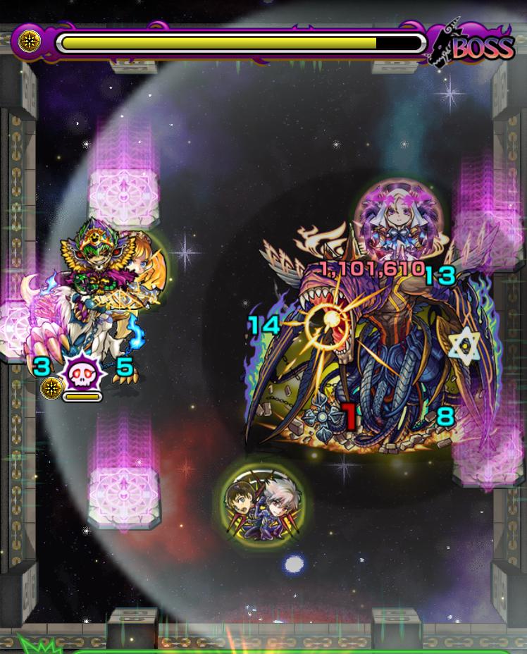 覇者の塔35階の第8ステージの画像
