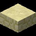 砂岩のハーフブロック画像