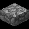 丸石のハーフブロック画像