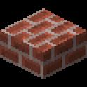 レンガのハーフブロック画像