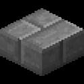 石レンガのハーフブロック画像