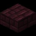 ネザーレンガのハーフブロック画像