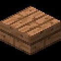ジャングルの木材のハーフブロック画像
