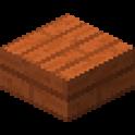 アカシアの木材のハーフブロック画像