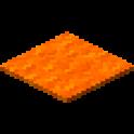 橙色のカーペット画像