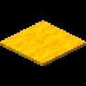 黄色のカーペット画像