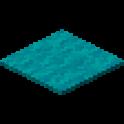 青緑色のカーペット画像