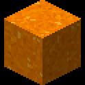 橙色のコンクリートパウダー画像