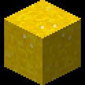 黄色のコンクリートパウダー画像