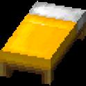 黄色のベッド画像