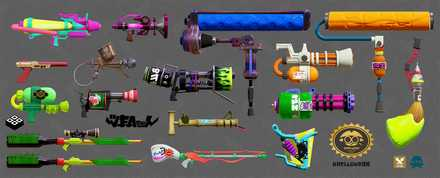 追加が予想される武器の画像