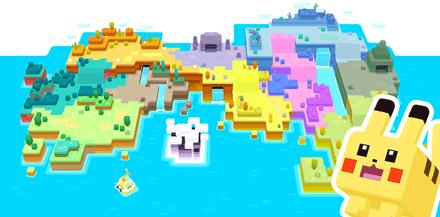 ポケモンクエストの全体マップの画像