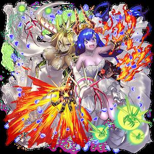 [荒ぶる乙女]アドラ&ベルゼの画像