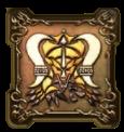 鉄鬼軍王キラゴルドの紋章・頭のアイコン