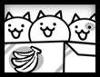 ネコの箱詰めの画像