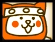 ネコ忍者~橙~の画像
