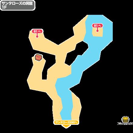 ドラクエ5のサンタローズの洞窟1F