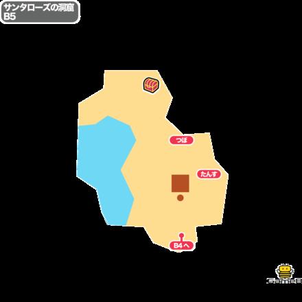 ドラクエ5のサンタローズの洞窟B5