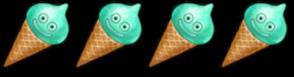 4人ミントスライムアイス