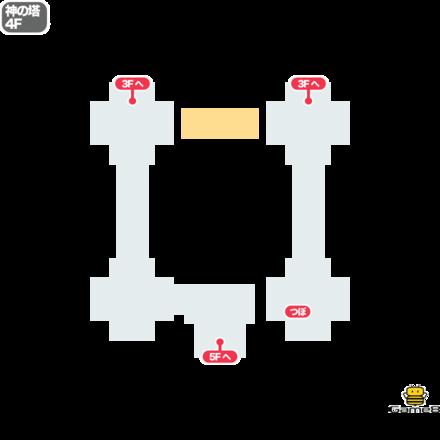 ドラクエ5の神の塔の4F