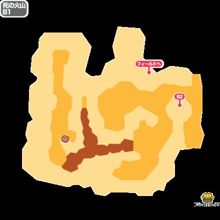 ドラクエ5の死の火山のB1