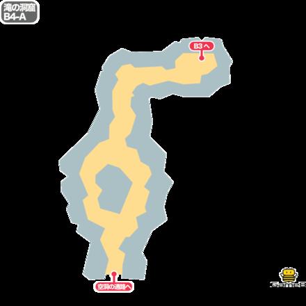 ドラクエ5の滝の洞窟のB4-A