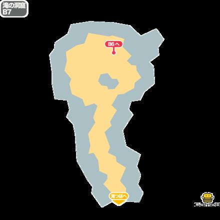 ドラクエ5の滝の洞窟のB7
