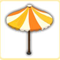夏の日傘の画像