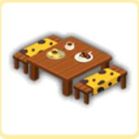 ピクニックテーブルの画像