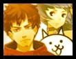 タクヤとユキとネコの画像