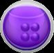 紫色カプセル