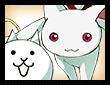 キュゥべえ&ネコの画像