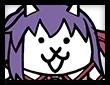 ネコ桜の画像