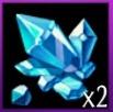 鋳造結晶(紫)×2画像