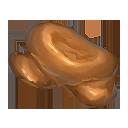 赤銅の結晶塊の画像
