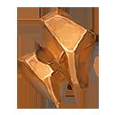赤銅の隕結晶の画像