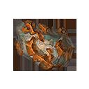 赤銅の結晶片の画像