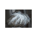 銀白の結晶片の画像