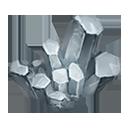 銀白の隕結晶の画像