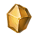 黄金の隕結晶の画像